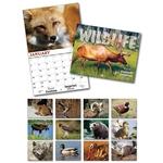13 Month Custom Appointment Wall Calendar - WILDLIFE