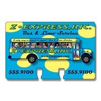 Extra-Thick UV-Coated (1S) Rotary Card - Full Tab (4x2.5625)