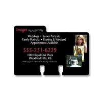 Extra-Thick UV-Coated (1S) Rotary Card - Left Tab (4x2.5625)