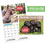 13 Month Custom Photo Appointment Wall Calendar - High Gloss