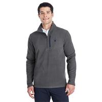 Spyder Men's Transport Quarter-Zip Fleece Pullover