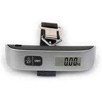 Digital Luggage Scale With Digital Thermometer