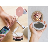 2 in 1 powerbank and Compact Mirror