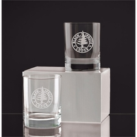Executive Double Old Fashion Gift Set of Two