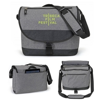 Envoy Heathered Laptop Messenger Bag