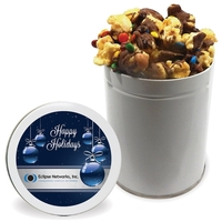 NEW Chocolate Drizzled Toffee Crunch - Quart Tin