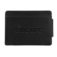 Leather Money Clip RFID Wallet