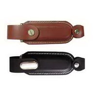 Leather USB Flash Drive With Holster