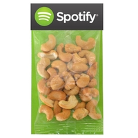 Large Billboard Full Color Header Candy Bag- with Cashews