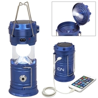 Pop-Up Solar Lantern w/ USB
