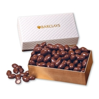 Chocolate Covered Almonds in Pillow Top Gift Box