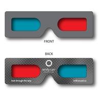 3D Glasses - Mini Hand Held Red/Cyan - Custom Imprint