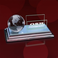 Sommerville Cardholder - Clear Globe