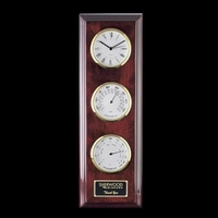 Simmons Wall Clock -3 Face (Gold)