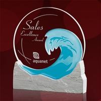 Wave Award - Starfire/Teal/Sandstone