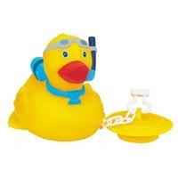 Rubber Sea Diver Duck w/Bath Tub Plug