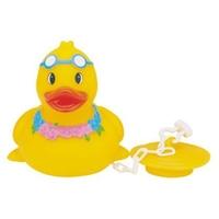 Rubber Sunny Duck w/Bath Tub plug