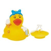 Rubber Bath Tub Duck w/Bath Tub Plug