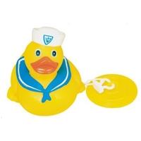 Rubber Mariner Duck w/Bath Tub Plug