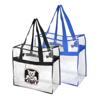 "20"" webbing handles NFL Approved Open Stadium Tote"