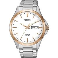 Citizen Men's Quartz Rose Gold Two-Tone Bracelet Watch