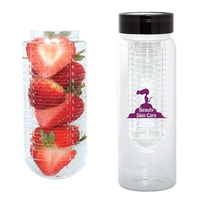 500 ML. (17 OZ.) WATER BOTTLE WITH FRUIT INFUSER