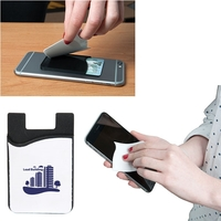 SMART PHONE WALLET WITH SCREEN CLEANER