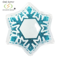 Snowflake Hot/Cold Pack with Gel Beads
