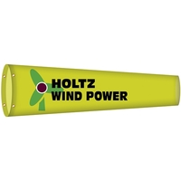 "18"" x 60"" Custom Printed Knitted Polyester Windsock"