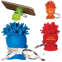 MopTopper™ Mobile Stand Cord Winder Key Chain