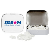 Domed Tin with Star Shaped Mints