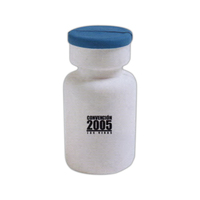 Pill bottle shaped stress reliever