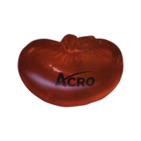 Kidney shaped gel ball stress reliever