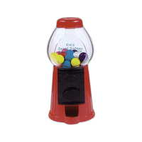 Gumball dispenser or candy dispenser made from ABS plastic