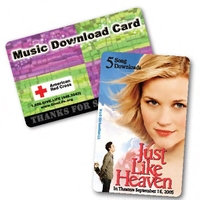 Prepaid Music Download Gift Card