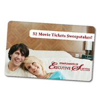 Movie ticket sweepstakes