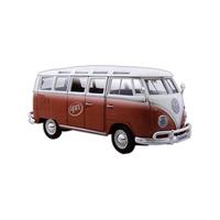 Die cast Volkswagen Van Samba replica car