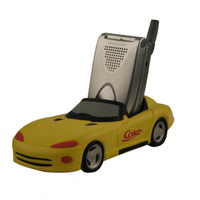 Cell phone or remote control holder sports car shape
