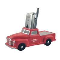 Cell phone remote control holder 1950 style pickup truck