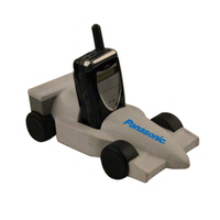 Indy Formula racer cell phone holder