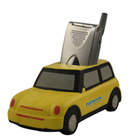 Mini style sports car cell phone or remote control holder