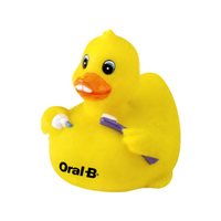 Pearly White Rubber Duck