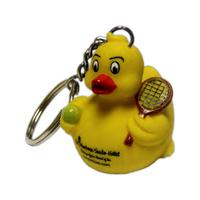 Tennis Duck Key Chain