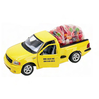 Ford diecast pickup filled with Mike and Ike fruit candy