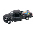 Harley Davidson pickup truck with chocolate coated candy