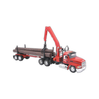 Metal and plastic die cast replica Mach Tractor and Trailer