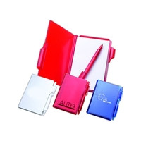 Memo Pad with Pen Lock