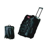Genuine Leather Super-Deluxe 23in. Trolley/Backpack