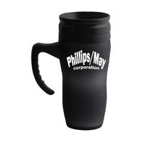 16 oz. insulated mug with smooth exterior