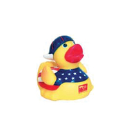 Stars and Stripes Rubber Duck